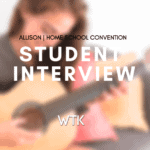 Student interview with Allison