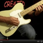Lead Guitar Speedpicking on the high E String with A Minor - With Steve Thornhill