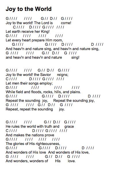 joytotheworld-chord