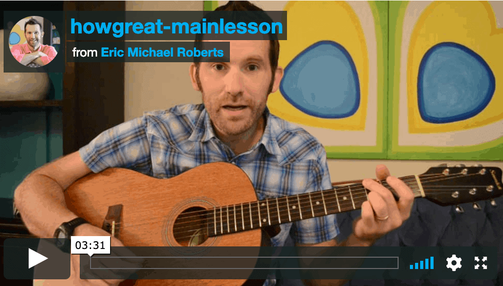 How Great Is Our God – Free Lesson