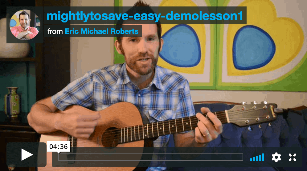 Mighty To Save – SNEAK PEAK LESSON