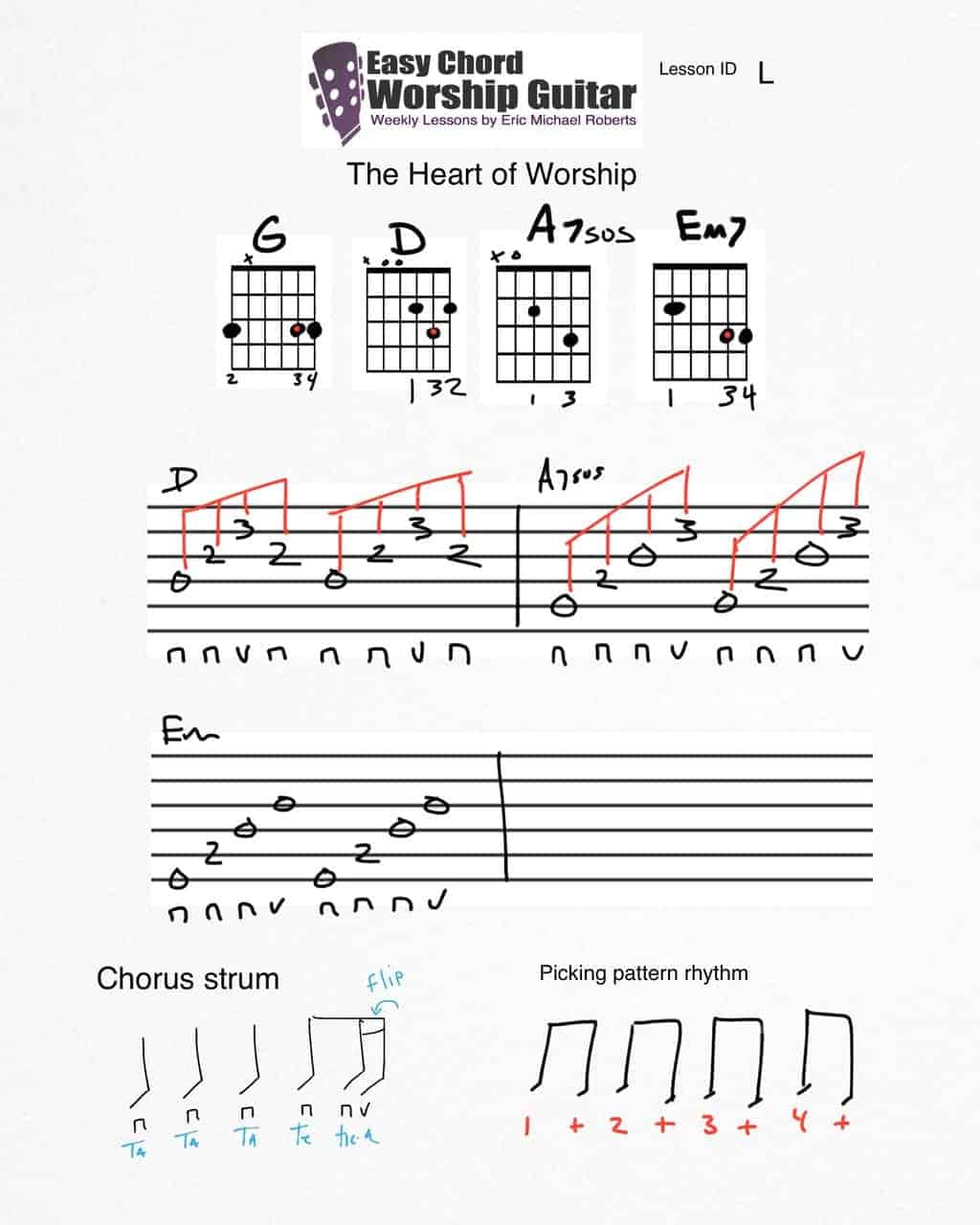 theheartofworship-lesson