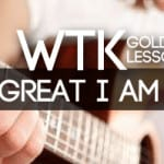 Great I Am - Easy Worship Guitar Version