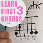 Learn your first 3 chords fast and easy!